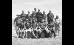 The N-K Trap team is pictured at the Iowa Clay Target League State Championship on Saturday, June 5. Photo by Michelle Moretz.