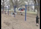 Many of the milestones of the Northwood-Kensett school year have been the small touches as actvities get closer to normal. One of the latest was a return to the playgrounds. COVID-19 restrictions made it difficult to safely sanitize the equipment between uses. Instead, the playground equipment will be cleaned before the start of each new school day.