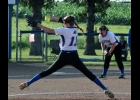 N-K's ace Kayla Senne averaged two K's an inning in the teams 8-7 regional win last night over North Iowa.