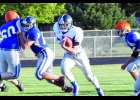 N-K will rely on the power running of Brandon Varner this season. Varner is shown here running for yardage in last Friday's Soap Scrimmage. Varner is the team's leading returning rusher from last season, where he ran for 438 yards and eight touchdowns.