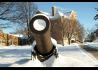 Pictured is the cannon at the Worth County Courthouse.