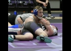 N-K's Drake Tiedemann, who dominated his match against GTRA's Bryce Rosacker from start to finish, looks like he's just casually holding on, waiting for the ref to slap the mat. Tiedemann is the team's first to 20 wins this season, boasting an impressive 20-3 record, putting him just 11 wins shy of the 100-win milestone.